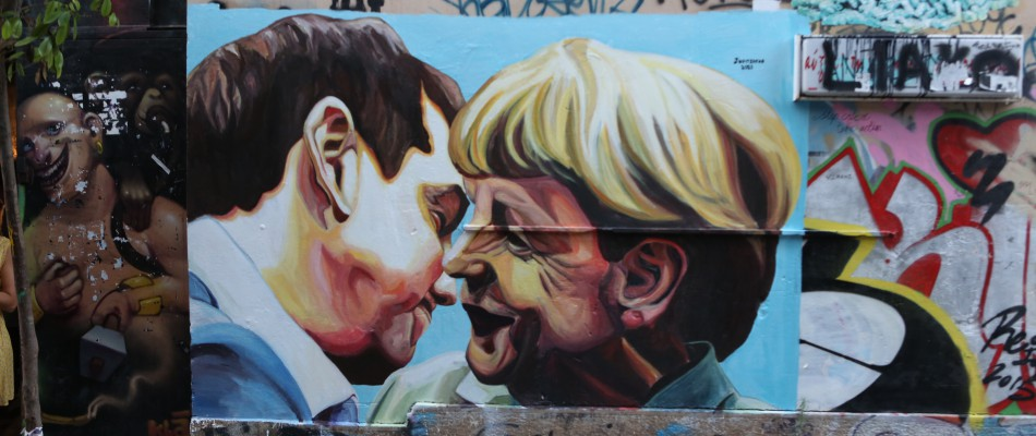 Modern murals to make reflect about modern and social issues - Jupiterfab -Athens