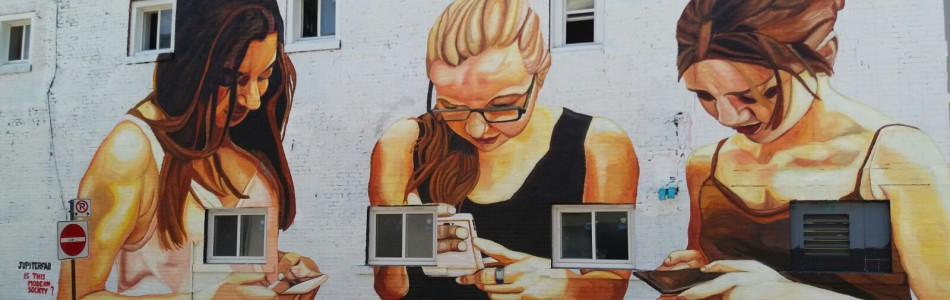 (English) mobileaddiction, mobile addiction, mobile abuse, mobileabuse, mobileabuseart, mobile abuse art, mobile abuse mural, mobile abuse street art, mobile abuse grafiti, mobile abuse graffiti, jupiterfab, is this modern society