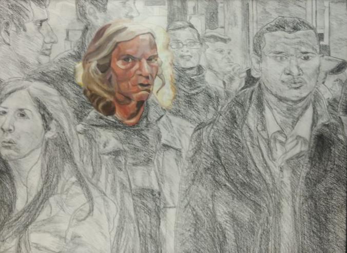 2012 alone-1 70 x 90 cm