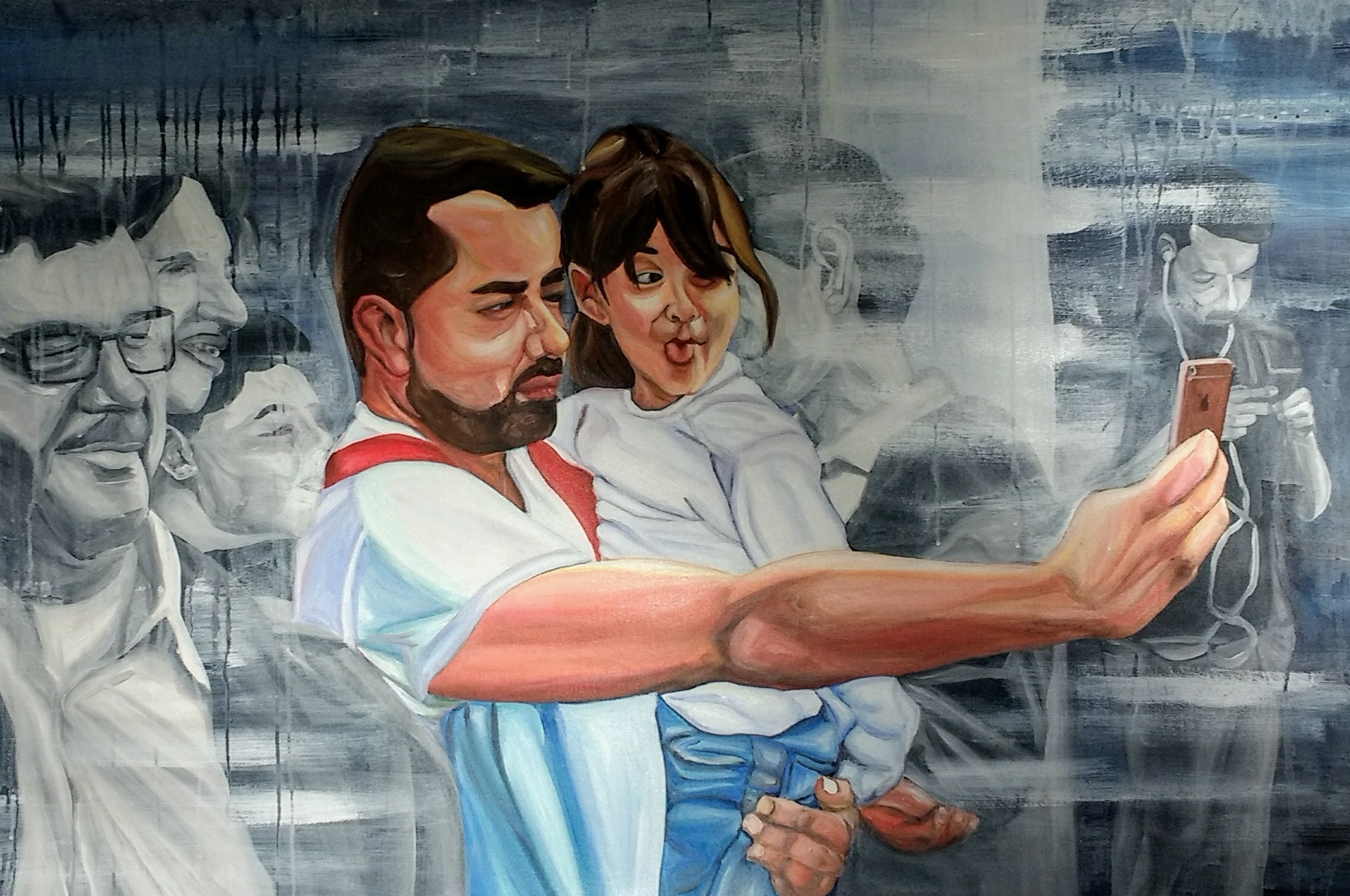 2019 For ever together 115 x 70 cm